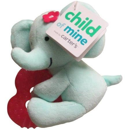 Carters Girl Elephant Water Filled Teether