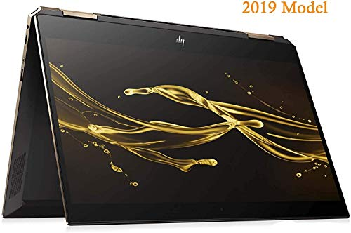 HP Spectre Touch x360 15-df00 Gaming 2-in-1 Laptop in Ash/Gold 8th Gen Intel i7-8750H Six Core up to 4.1GHz 16GB 512GB SSD 15.6in 4K B&O 4GB Graphics (Renewed)