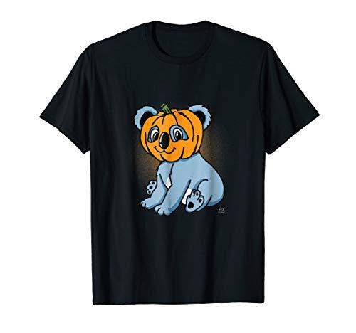 Funny Cute Koala Bear with Pumpkin Halloween 2018 Shirt ()