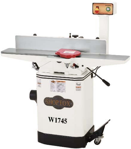 Shop Fox W1745 6-Inch Jointer With Built-In Mobile Base