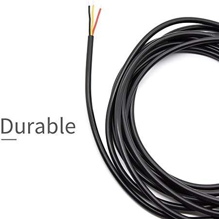 XueQing Pan Acier Inoxydable sonde étanche DS18B20 temprature 3m