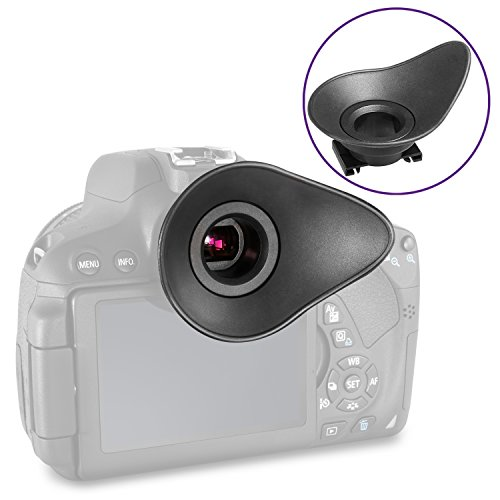 (Actualización 2018) Altura foto ocular ocular ocular para Canon Rebel T6i T5i T5i T3i T3i T3i T2i SL1, Canon EOS 70D 1100D 700D 650D 600D 550D