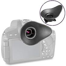 ALTURA Photo Visor Ocular (22mm) Eye Cup Reemplazo para Nikon DSLR D7100D7000D5200D5100D5000D3300D3200D3100D3000D600D90D80D70D60