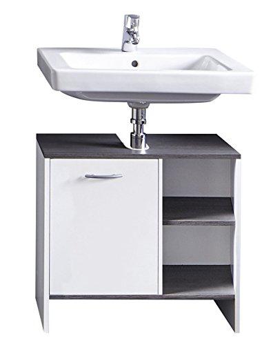 trendteam smart living Badezimmer Waschbecken Unterschrank Schrank ...
