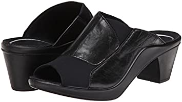 Romika Mokassetta 244 27044 Black Mule Sandal