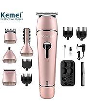Kemei super grooming kit 10 in 1 for men wet and dry KM-1015 black