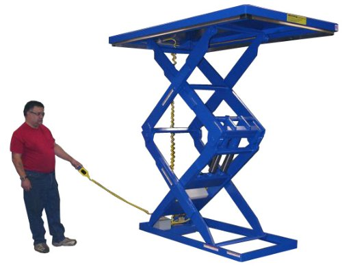 Beacon-Double-Scissor-Lift-Table-Vertical-Travel-72-Platform-Width-34-48-Platform-Length-64-88-Capacity-LBS-5000-Raised-Height-84-Lowered-Height-12-Travel-Time-Sec-23-Model-BEHLTD-34486488-5000-84