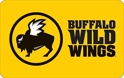 $25 Buffalo Wild Wings Gift Cards - E-mail Delivery
