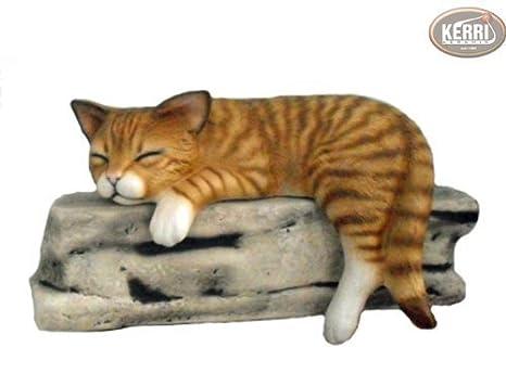 Gatto sgabello bordo gatto decorativo gatto di ceramica: amazon.it
