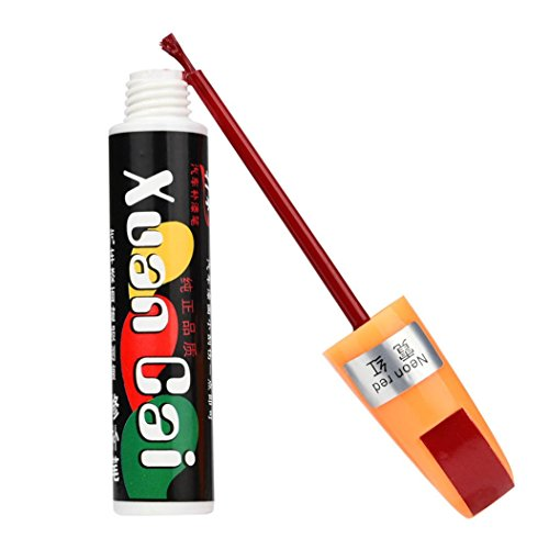 Touch Up Pen Scratch Repair Remover Fix Tool Red - 1