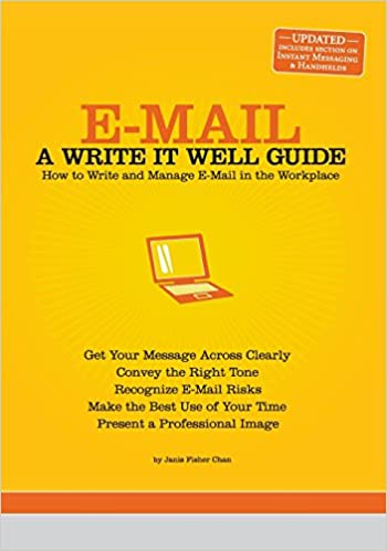 Amazon e mail a write it well guide 9780963745590 janis amazon e mail a write it well guide 9780963745590 janis fisher chan books altavistaventures Gallery