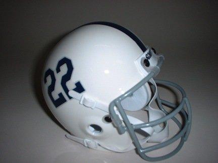 (Schutt Penn State Nittany Lions (1973) Mini Throwback Football Helmet from)