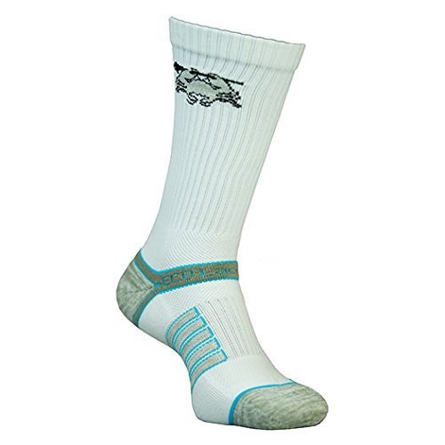 East Coast Dyes Performance Lacrosse Socks (White, ()