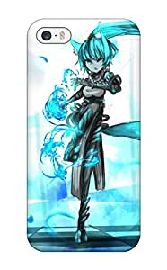 wings blue apples Anime Pop Culture Hard Plastic iPhone 5/5s cases 3338764K723049885