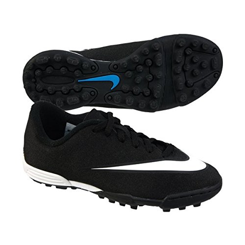 Nike Jr Mercurial Vortex II CR Tf Stivali, NeroBianco, 38.5