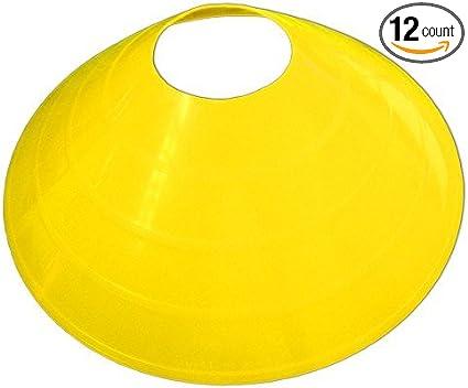 1//2 Pcs Black Plastic Agility Drill Marker Disc Cone Holder 5 Colors Choose