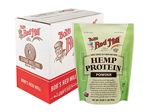 Bob's Red Mill Hemp Protein Powder, 16-ounce (Pack of 4)