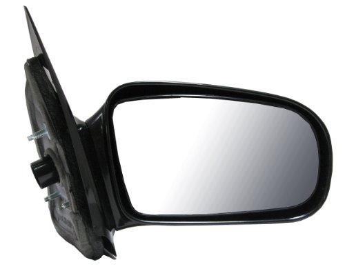 Right Door Mirror Sunfire - Cavalier/Sunfire Manual Side View Door Mirror Black Assembly Passenger Right RH