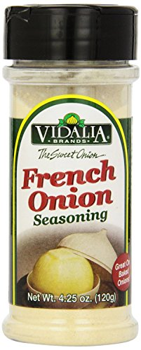 Vidalia Brand French Onion Seasoning, 4.25-Ounce (Pack of 4) by Vidalia