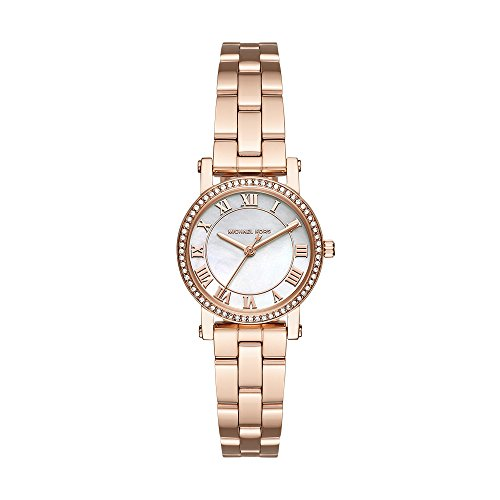 (Michael Kors Women's Norie Rose Gold-Tone Watch MK3558)