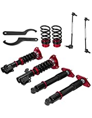 Aramox Coilover Damper Set, 4Pcs Coilover Suspension Damper Strut Kit Fit for Hyundai Genesis Coupe 11-15 2-Door Model ONLY