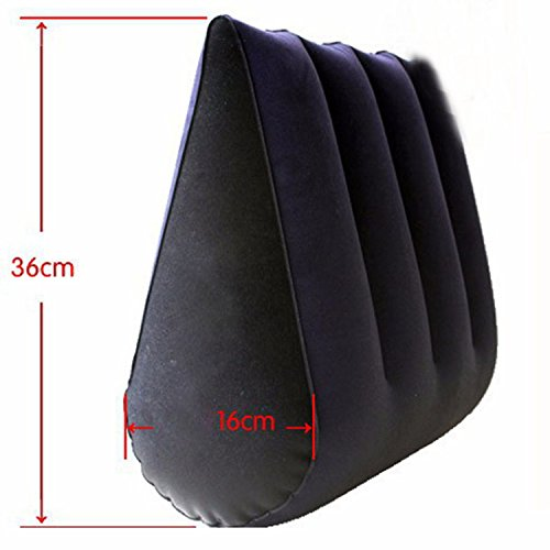 Heat-Tracing Sex Pillow Magic Triangle Pillow Versatile Inflatable Cushion Toys Adult Sex Furniture Sex Toys by Heat-Tracing