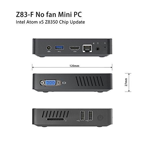 Mini PC Z83 F RAM 4GB disco fisso 64GB eMMC