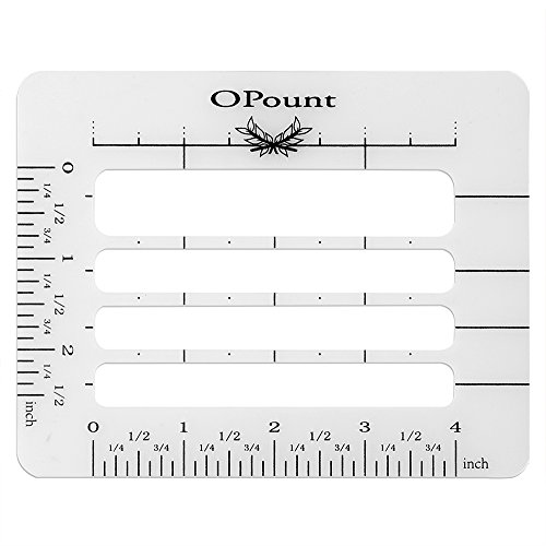 Envelope Writing Guide (OPount Envelope Addressing Guide Stencil Template Fits Wide Range of Envelopes, Sewing, Christmas Cards)