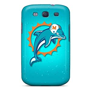 Anti-Scratch Hard Phone Case For Samsung Galaxy S3 With Customized Nice Miami Dolphins Series MansourMurray