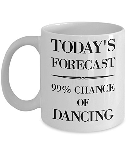Dance Mug - Dance Teacher Gifts - Dancing Lady Gifts by Humble Expressions