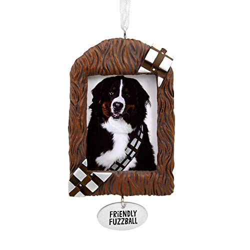 Hallmark Christmas Ornaments, Star Wars Chewbacca Pet Picture Frame Ornament -
