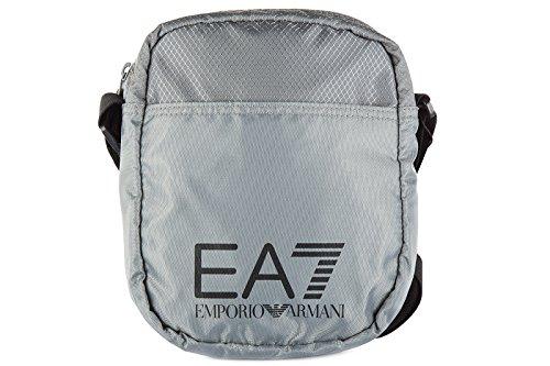 EA7bolsa de negro gris