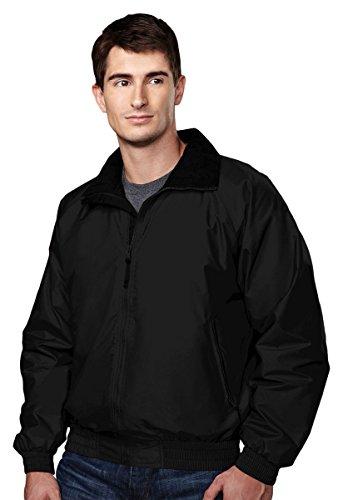 (Tri-Mountain Midweight Waterproof/Windproof Toughlan Nylon Jacket. 8000 Volunteer)