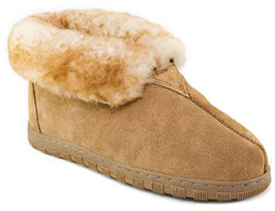 Amazon Com Cloud Nine Men S Cascade Sheepskin Booty Gold