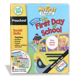 My First LeapPad: Preschool Social Skills - First Day of School Photo Book