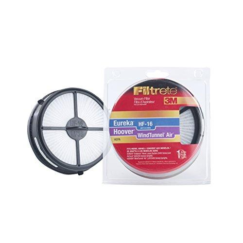 (3M Filtrete Eureka/Hoover/Electrolux HF-16 / WindTunnel Air High Efficiency Allergen Vacuum Filter)