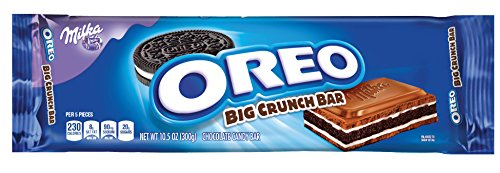 Oreo Big Crunch Chocolate Candy Bar   10 5 Ounce  Pack Of 4
