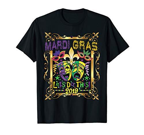 MARDI GRAS TSHIRT 2019, Fleur Symbol New Orleans Parade Gift - Symbol New T-shirt