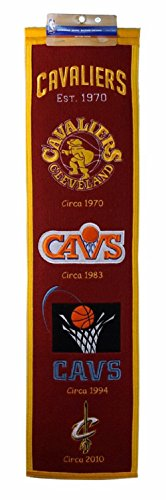 NBA Cleveland Cavaliers Heritage Banner