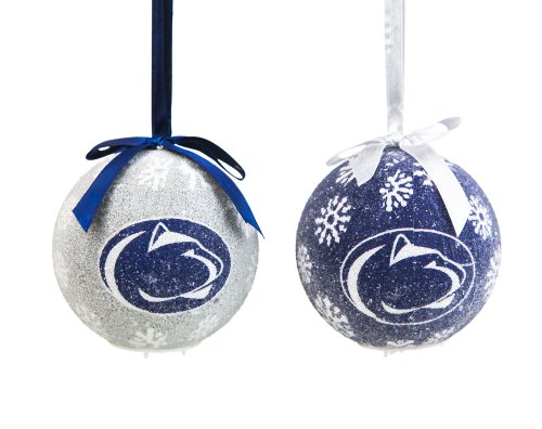 Penn State Boxed LED Ornament Set (Christmas Penn Ornaments State)
