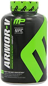 Muscle Pharm Armour-V Capsules, 180 Count