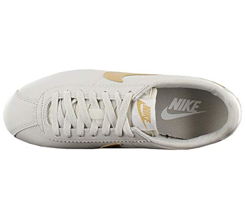 Chiaro Wmns metallizzato Nike Oro Cortez bianco Hk Metallizzato Classic Pelle Donna Ossa Ossa w81U5x1qY