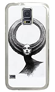 Brian114 Samsung Galaxy S5 Case, S5 Case - Fashion Crystal Clear Hard Case for Samsung Galaxy S5 Entelecheia Completeness Waterproof Back Hard Case for Samsung Galaxy S5 I9600