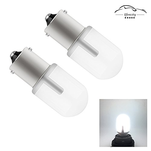 1156 Led Bulb Light,Efoxcity 2017 Newest,10-30V 2 Pcs 1141 1003 1073 7506 Natural White For Back Up Reverse Lights,Brake Lights,Tail Lights,Rv lights by Efoxcity
