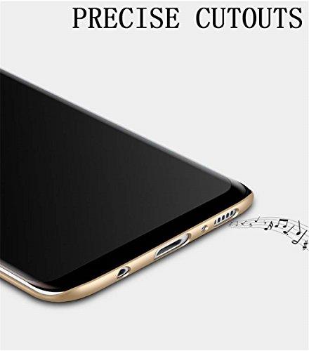 Coque Samsung Galaxy S9, Galaxy S9 Plus Case Ultra Slim Légère Case Adamark Anti-Scratch Thin Protection Housse Bumper Récurer PC Rigide Étui Back Shell Pour Samsung Galaxy S9/S9 Plus 2018 (Galaxy S9  Or