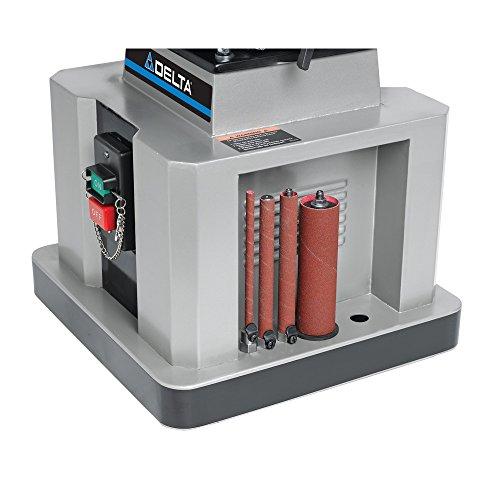 Delta Woodworking 31 483 Heavy Duty Oscillating Bench Spindle Sander 1 2 Hp 115 Volt Nielsen