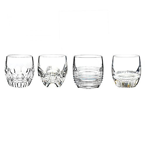 (Mixed Double Old Fashioned Glass (Set of 4) Color: Clear)