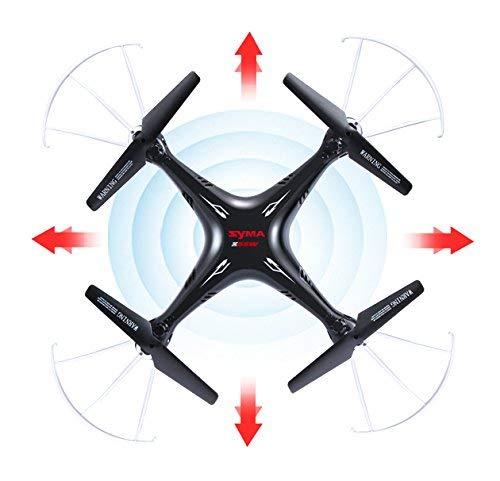 SR ENTERPRISES Syma X5SW WiFi HD Camera Drone, 2.4GHz RC Headless Quadcopter (Black)