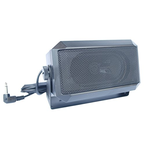 Rectangular 3.5mm plug 5W external speaker/CB speaker for Ham Radio, CB and Scanners TRD550