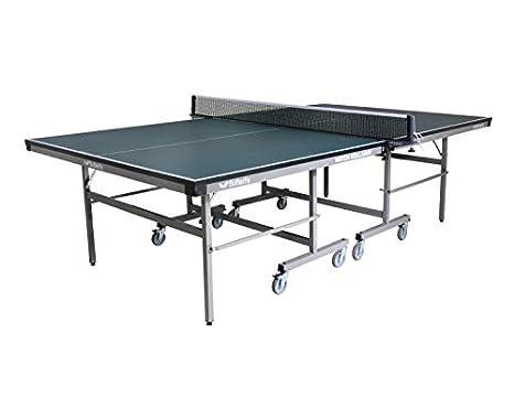 Butterfly Match - Mesa de ping-pong (plegable, con ruedas ...